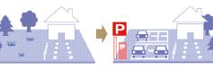 駐車場活用事例