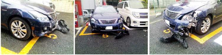 車両同士の接触事故(当て逃げ含む)